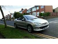 Peugeot 206 cc offers welcome