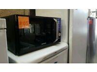 Ex Display Black Ceramic Samsung Microwave Oven With Ceramic Inside