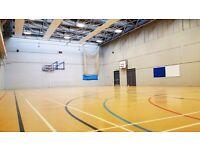 Basketball session near Canary Wharf on Friday 22 July