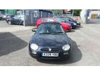 2000 (X reg) MG MGF 1.8 i VVC 2dr Convertible FOR SALE £395 SOLD WITH 12 MONTHS MOT