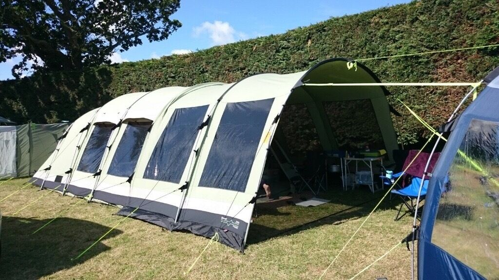 Outwell Polycotton Bear Lake 6 With Front Extension
