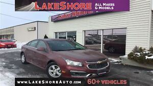 2015 Chevrolet Cruze 1LT LOW KMS RS PACKAGE