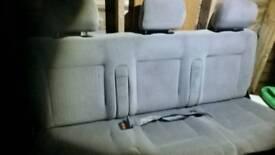 VW T4 transporter rear folding caravelle bench seat