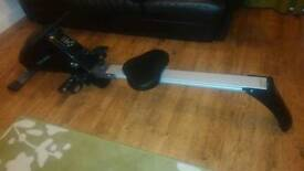 Body sculpture compact rowing machine