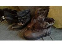 JOB LOT LADIES SHOES AND BOOTS. GOOD FOR CAR BOOT!