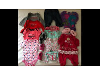 Lots of Baby Girl Clothes (3-6 months)