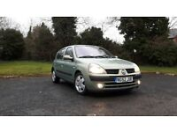 Renault Clio Automatic- Full Year MOT- only 60k like volkswagen polo seat ibiza megane