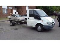 Ford transit 2.5 diesel cab and chassis mileage 72 thousand 11 months