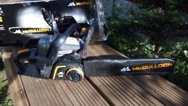 McCulloch CS 360T Petrol Chainsaw - Good condition - Used once only - £75 + £5 for MK delivery