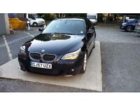 2007 BMW 525D M SPORT A BLACK *Sensible offers will be considered*