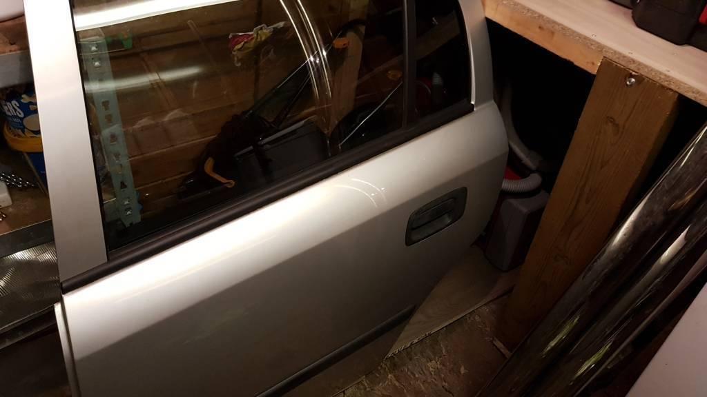 .Astra rear passenger car door