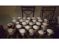 Vintage afternoon tea crockery