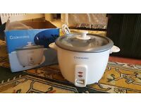 Cookworks rice cooker brand new never been used