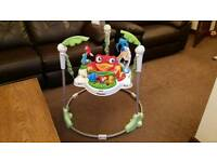 Fisher price rainforest jungle jumperoo bouncer swing