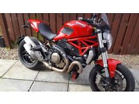 Ducati Monster immaculate condition never dropped new rear tyre just fitted classic ltalian style