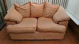 Two person sofa - FREE IF COLLECTED BEFORE FRIDAY 6TH