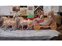 Barbie coach and horses