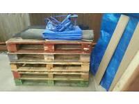 Joblotx5 Standard uk size pallet for sale
