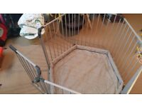 Multi-Purpose Playpen / Fireguard / Room Divider with play mat