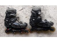 Used Inline skates - UK size 9 (EU 43)
