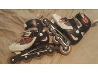 Decathlon inline skates uk size 3
