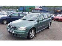 2000 (W Reg) Vauxhall Astra 1.8 CDX Estate £450 SOLD WITH 12 MONTHS MOT & 3 MONTHS WARRANTY