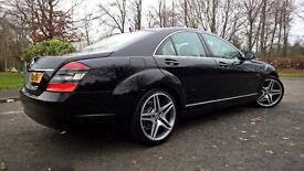 09/59 mercedes benz s class very low miles full service history