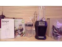 Brand new black nutri ninja blender