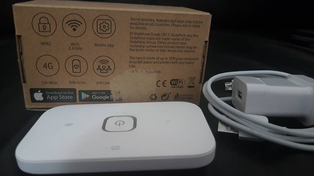 Vodafone 4g mifi dongle R218 unlocked | in Salford, Manchester | Gumtree