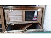 hutches, 6ft with thermal cover and 5ft with external run 6 x 4 x 3 hutch £50 each