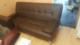 extensible leather sofa