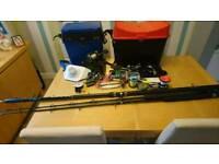 Sea fishing gear and boat gear