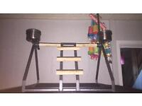 Parrot/Bird play stand or table stand