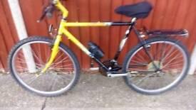 Mens mountain bike.vgc.26 inch wheels. MUST SELL As got a car now