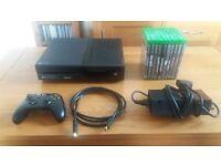 Xbox One 1tb & 10 Games