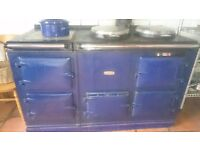 Aga 4 oven blue gas cooker. Old but in full working order. Buyer collect. Must sell.