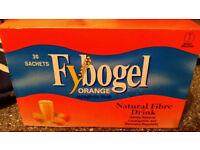 NEW - 2 packs of fybogel orange