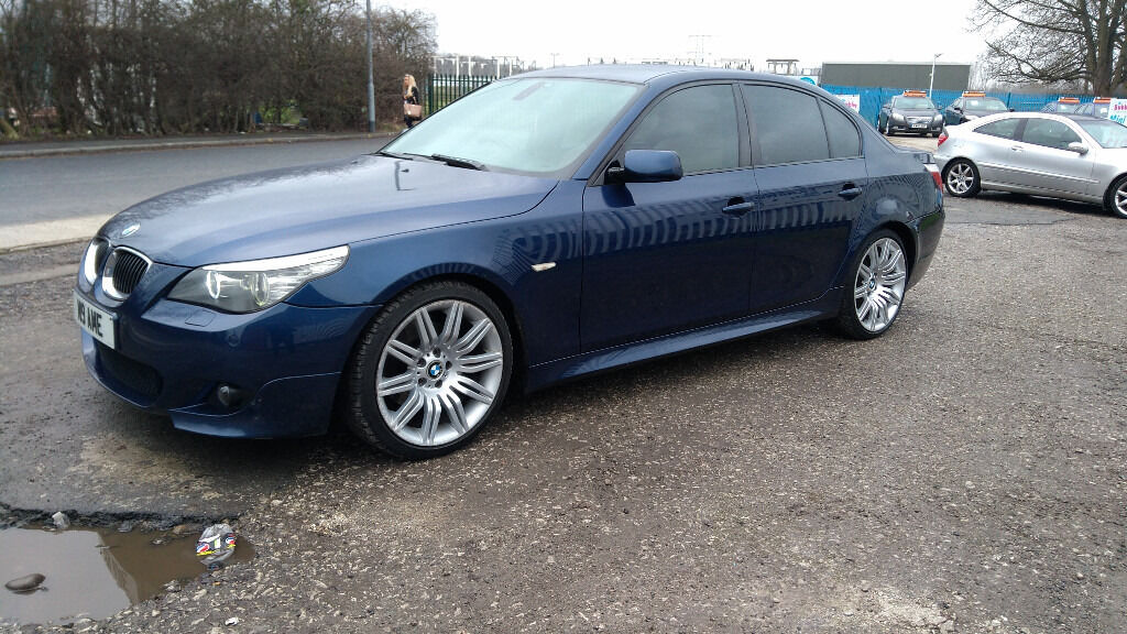 bmw 530d e60 sport 2007 facelift lci model blue full bmw service history in prestwich. Black Bedroom Furniture Sets. Home Design Ideas