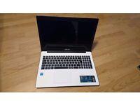 Asus laptop X553MA white (Intel Celeron 2.16GHz Dual Core Processor, 4GB Ram, 1TB HDD)