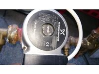 Grundfos central heating pump for sale, good working order. Upgraded system so spare.