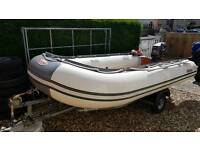 Suzumar inflatable boat