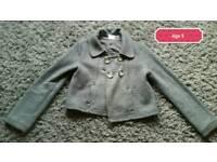 Grey NEXT jacket age 9 years