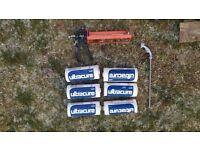 Damp proof cream 6 X 1 litre + gun set