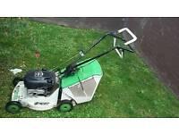 Etesia self propelled Brigg and Stratton lawnmower