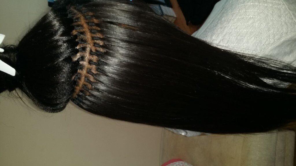 Mobile Afro Hairdresser For Brazilian Knots Extensions Crochet
