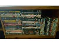 47 random DVDS AND the FULL set of The L Word