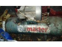 Clarke air master garage compressor
