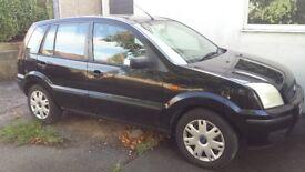 Ford Fusion 1.4 petrol 2004 4 months MOT