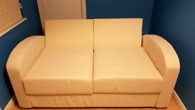 As new Cream Sofa Bed For Sale