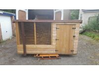 Dog kennal with run or chicken hut NEW